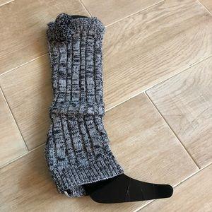 🆕 Leg Warmers Rampage Cozy Pom